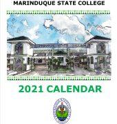school calendar 2021 cover